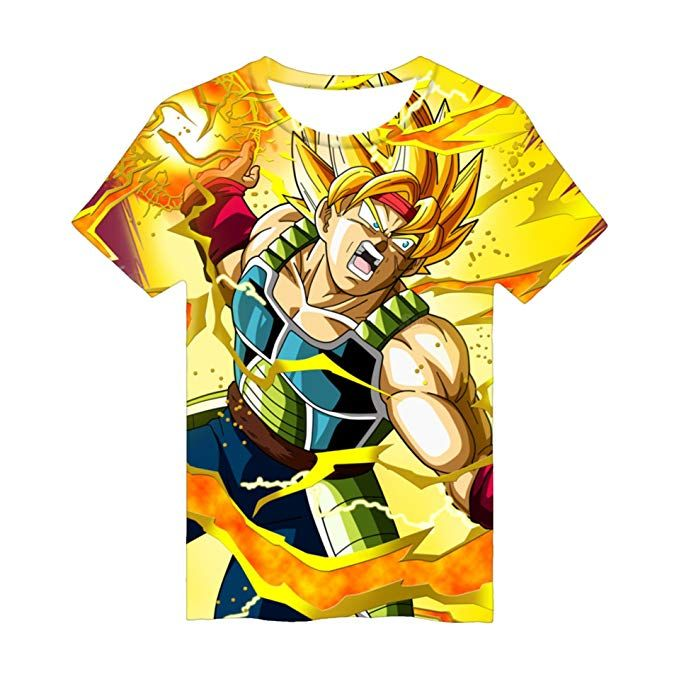 camisetas anime bardock dragon ballz